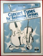 Concert Tunes for Beginning Strings – Bass Book One (CT1SB)
