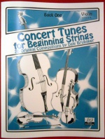 Concert Tunes for Beginning Strings – Viola Book One (CT1VA)