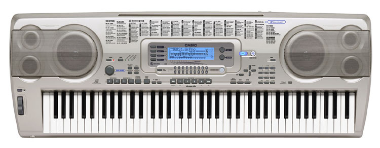 casio wk 3200 76 key portable keyboard. Black Bedroom Furniture Sets. Home Design Ideas