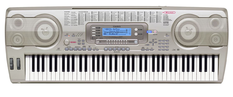 casio wk 3700 76 key portable keyboard. Black Bedroom Furniture Sets. Home Design Ideas